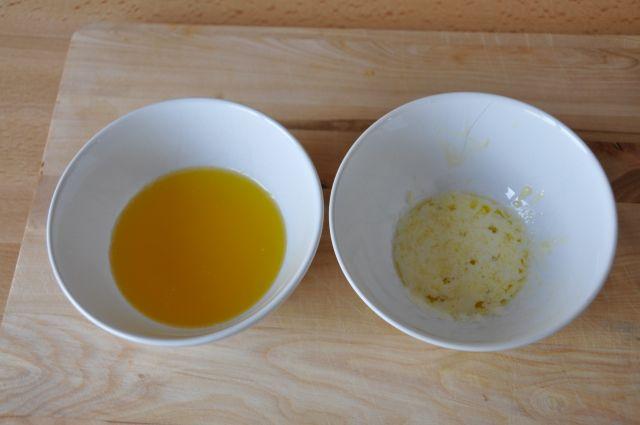 Maslo sklarowane i szumowiny