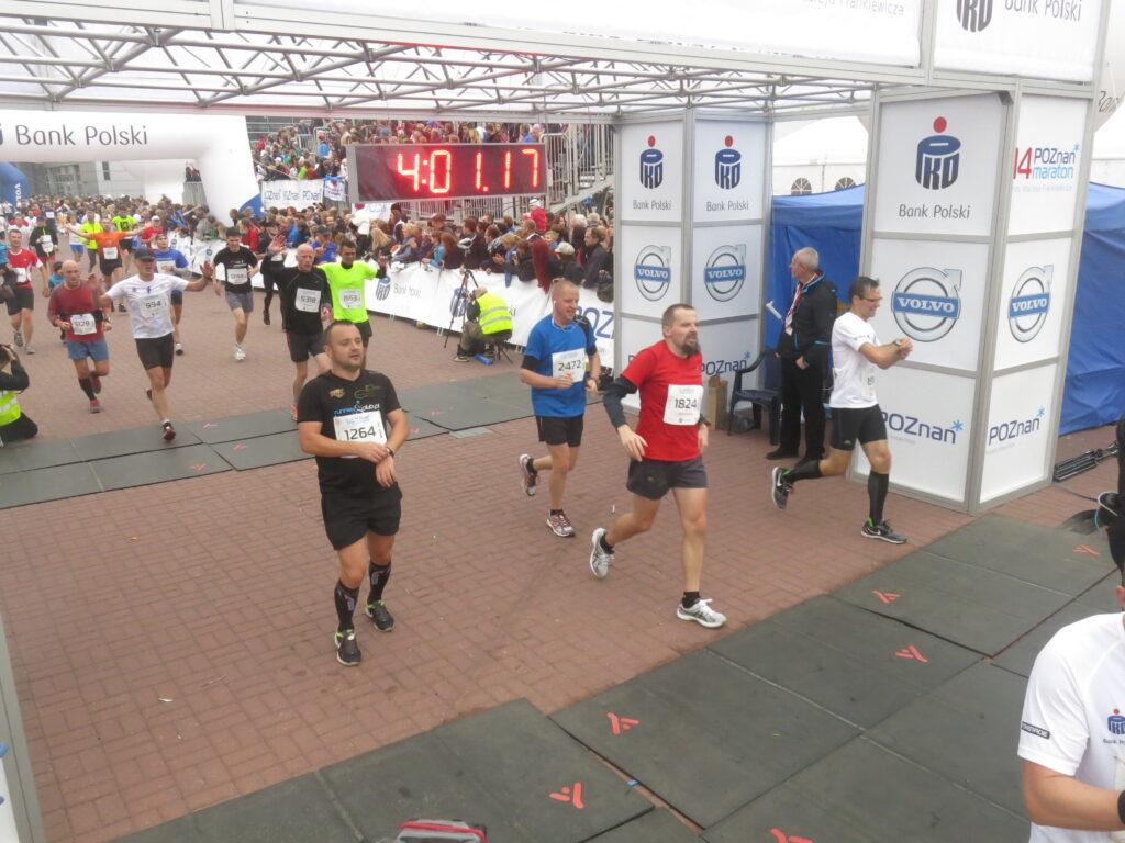 Finisz Maratonu Poznań 2013