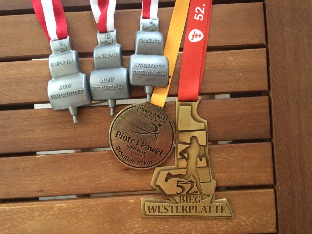 Medale - 10km