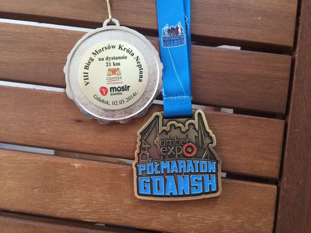 Medale - półmaratony