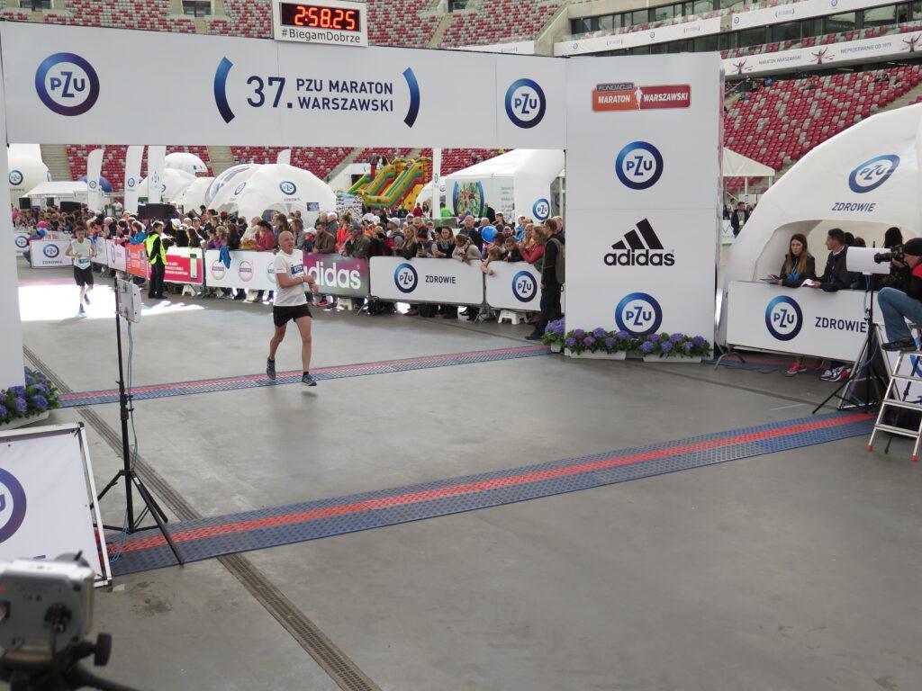 Meta Maratonu Warszawskiego 2015